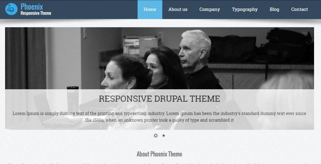 Plantilla Drupal Phoenix