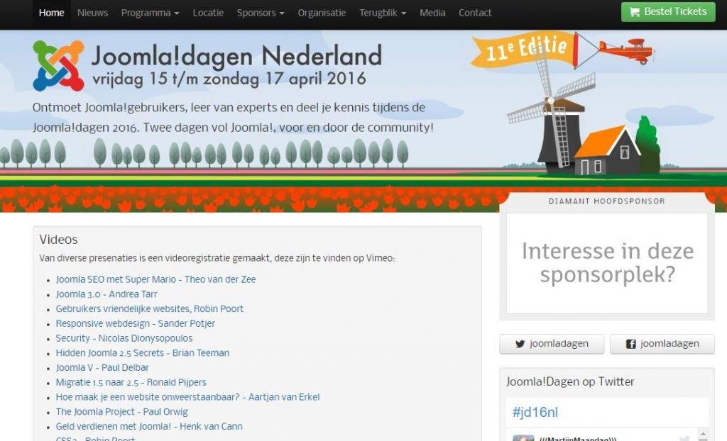 Plantilla Joomla Dagen Nederland
