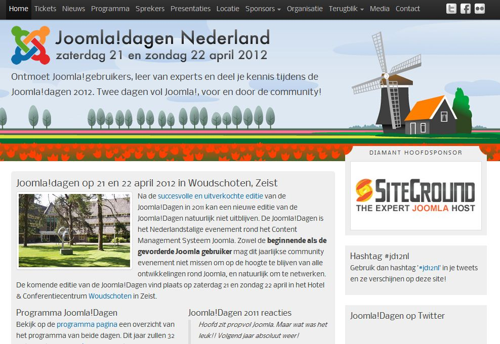 Plantilla gratis Joomla!Dagen Responsive Web Design