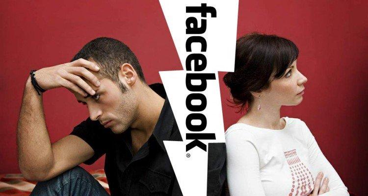"""Facebook es el """"causante"""" de uno de cada tres de los divorcios"""