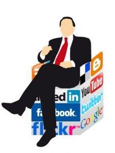 Uso redes sociales en la política