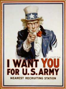 Historia de la publicidad: I Want You for U.S. Army