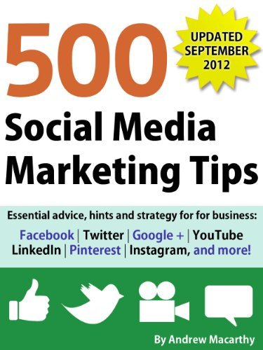 500 Social Media Marketing Tips - Andrew Macarthy