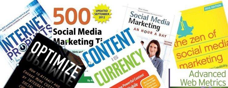 7 libros de Redes Sociales de 2012 que no pueden faltan en tu biblioteca