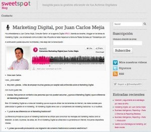 Marketing Digital, por Juan Carlos Mejía