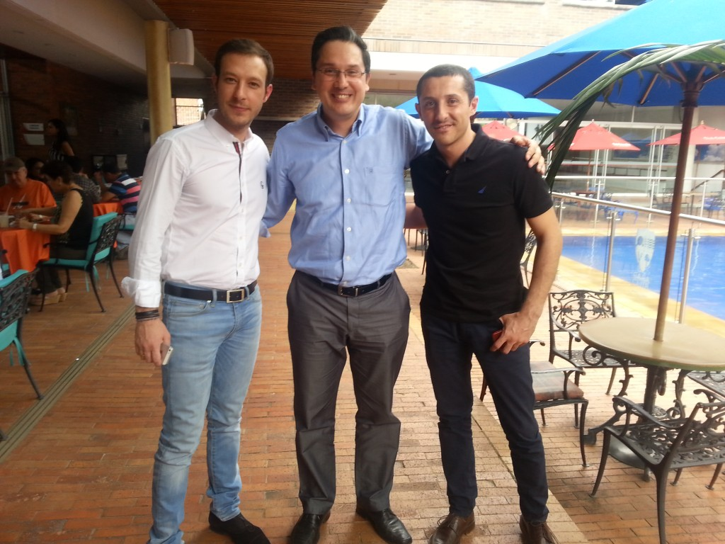 Juan Carlos Mejía Llano, Juan Merodio y Francisco Torreblanca