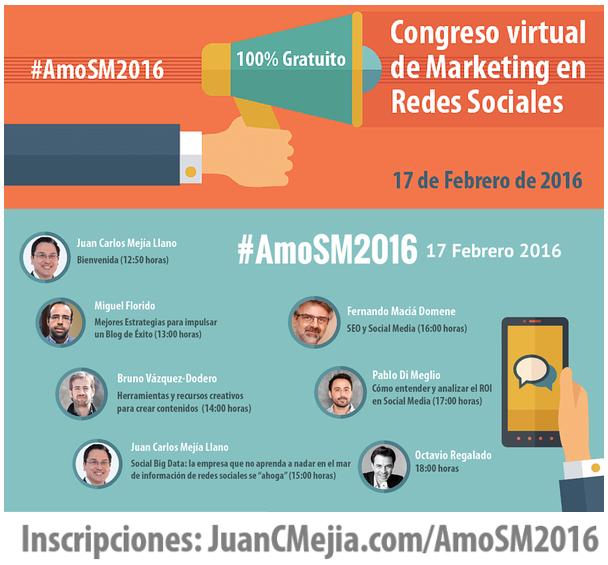 Banner de Congreso #AmoSM2016