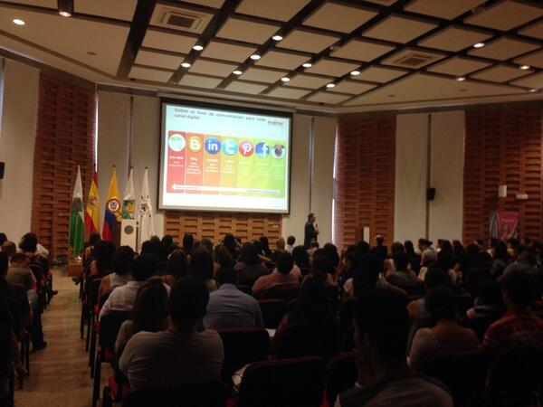 Juan Carlos Mejía Llano en Congreso Cultura Marketing Medellín 2014