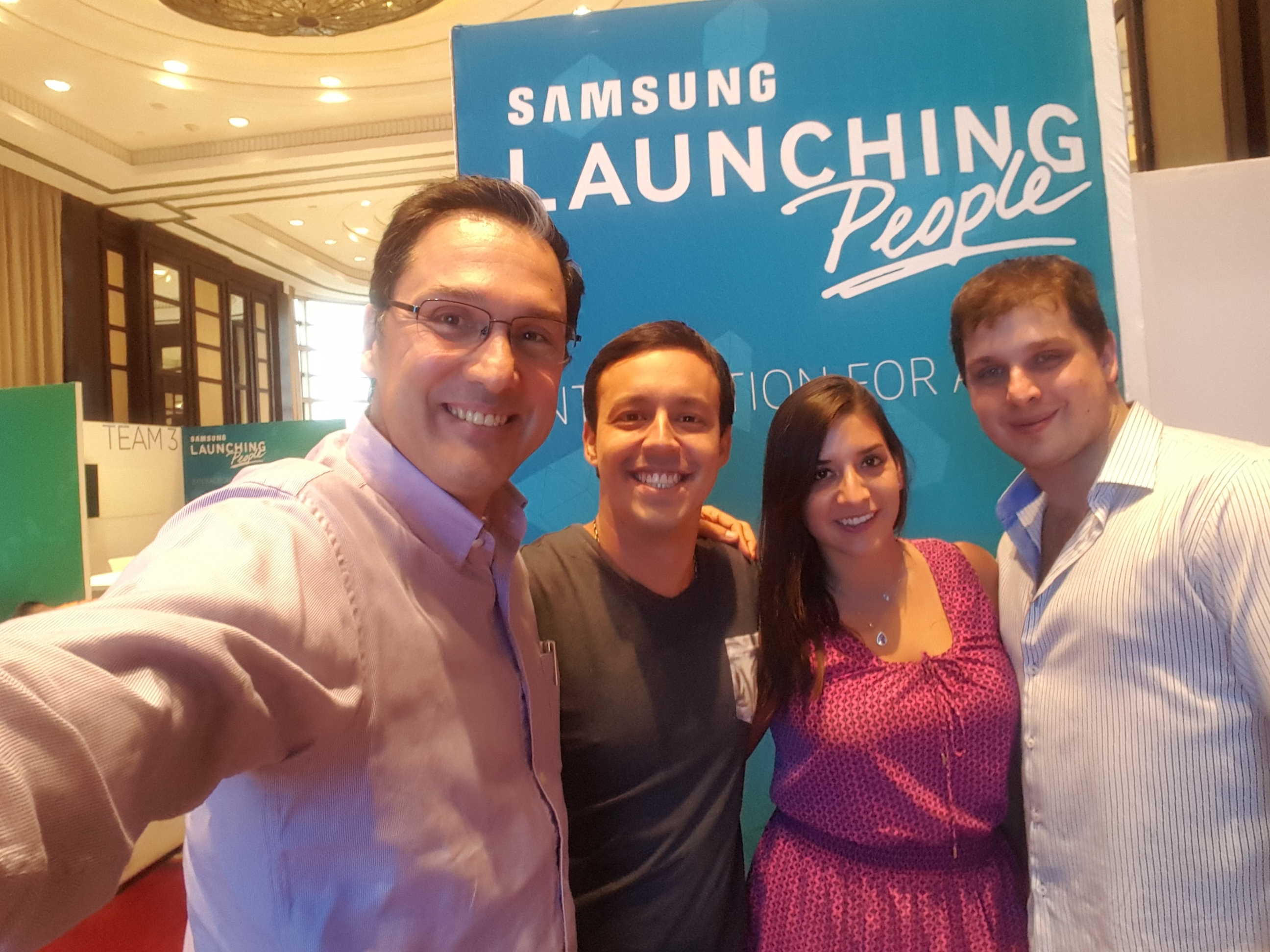 Fotos de jueces del evento Samsung Launching People – Interaction For Action