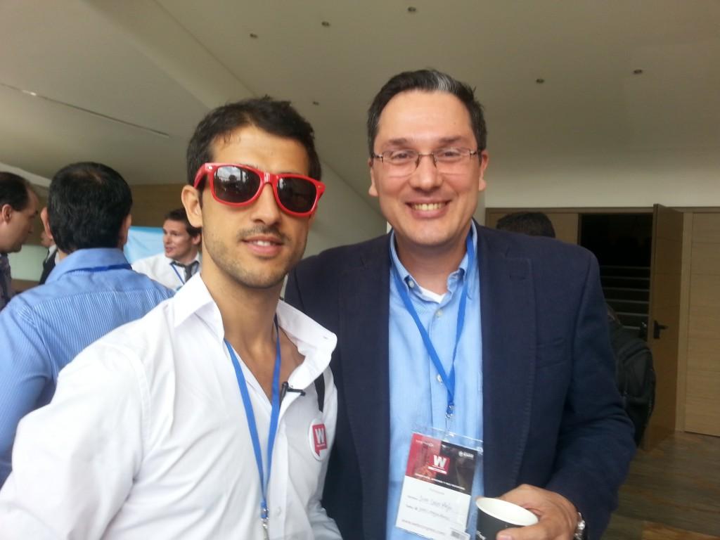 Juan Carlos Mejía Llano con Ouali