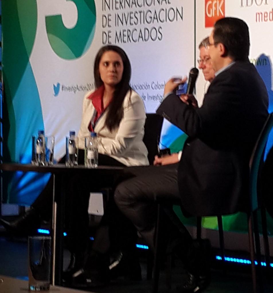 Juan Carlos Mejía Llano en congreso ACEI - Sesión de preguntas
