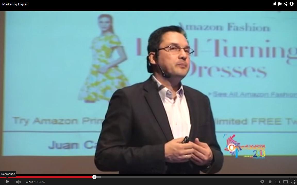Juan Carlos Mejía Llano ponente del congreso Oportunidad 2013 Universidad Javeriana Cali
