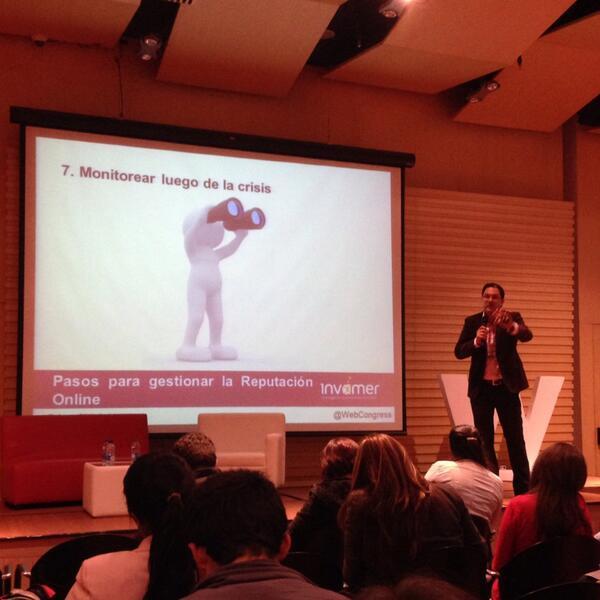 Juan Carlos Mejía en el WebCongress