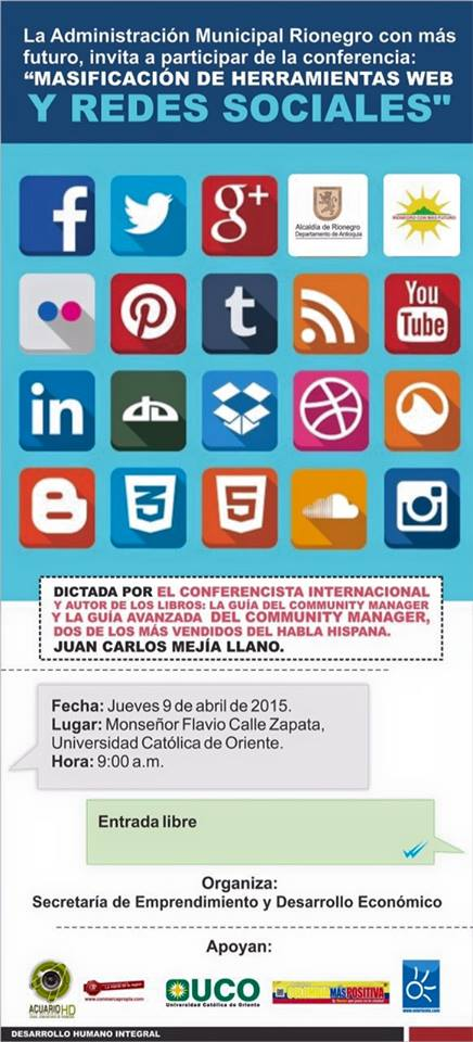 Promoción de evento Rionegro1