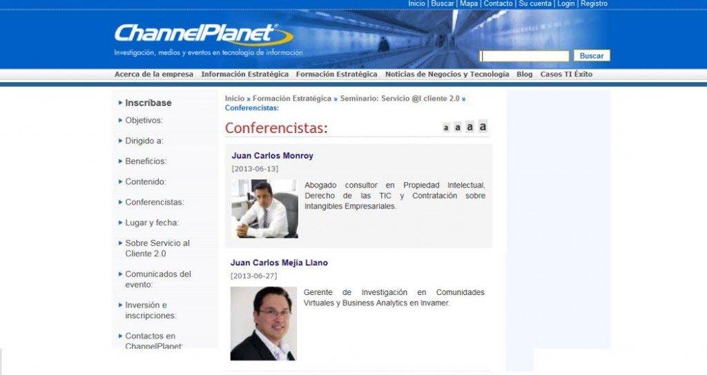 Promoción del evento Servicio al cliente 20 Juan Carlos Mejía Llano conferencista