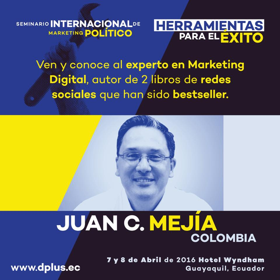 Seminario Internacional Marketing Político Juan Carlos