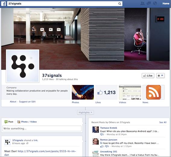 Facebook 37Signals