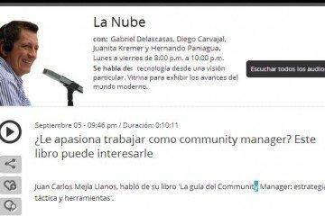 Juan Carlos Mejía habla de su libro la guia del Community Manager