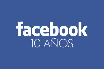 10 años de Facebook