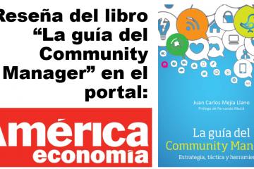 Encabezado articulo La guía del Community Manager en el portal America Economia