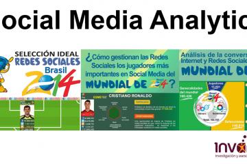 Social Media Analytics del Mundial de Fútbol Brasil 2014 - Completo análisis de redes sociales