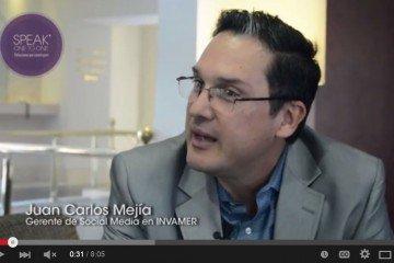 Juan Carlos Mejía Llano hablando de reputación online