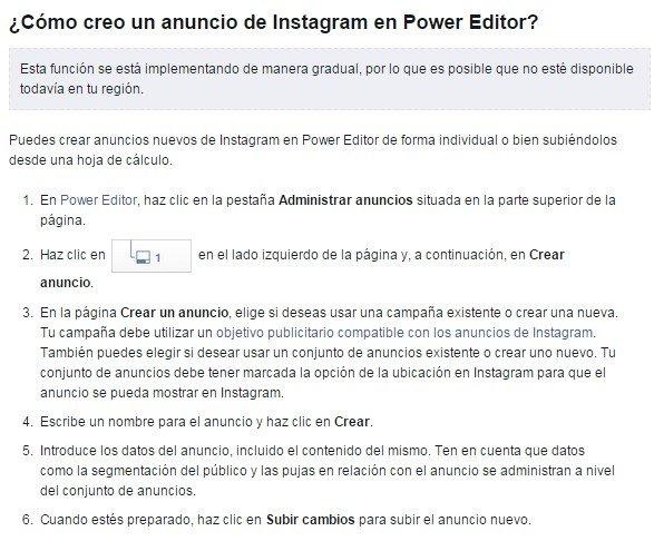 Instagram Power Editor