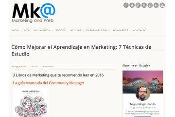 La guía Avanzada del Communty Manager recomendada pr el portal MarketingAndWeb.es