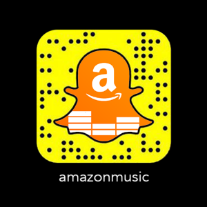 Amazon Music Codigo Snapchat