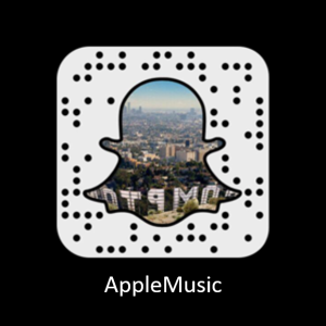 Apple Music Codigo Snapchat