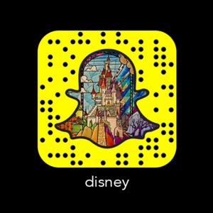 Disney Código Snapchat