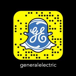 General Electric (GE) Código Snapchat