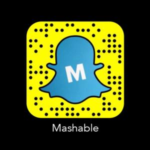 Mashable Código Snapchat