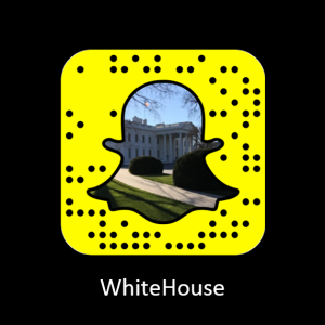 The White House Codigo Snapchat
