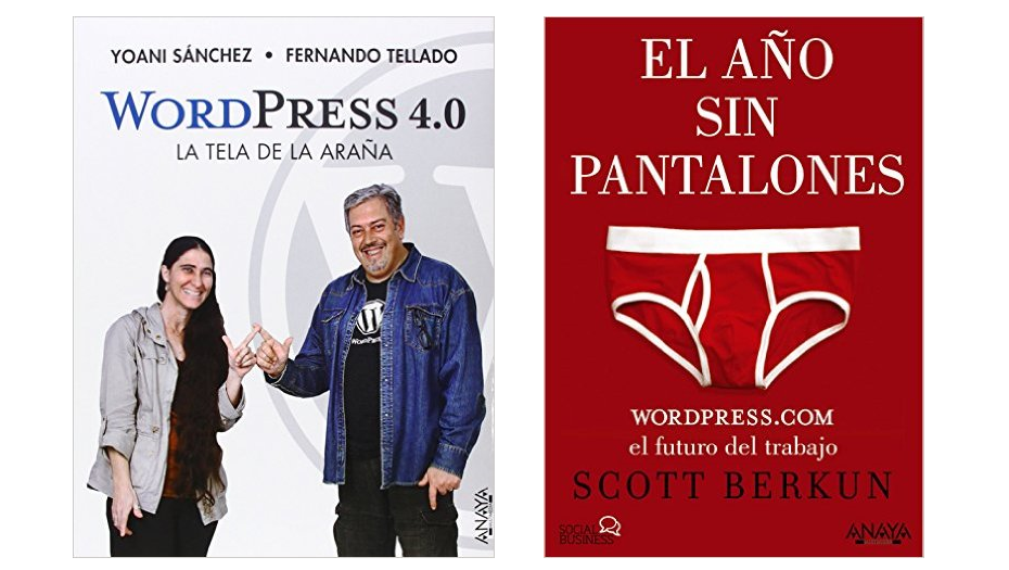 Dos excelentes libros relacionados con WordPress - Blog Marketing ...