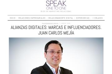 Marcas e influenciadores Juan Carlos Mejia Llano