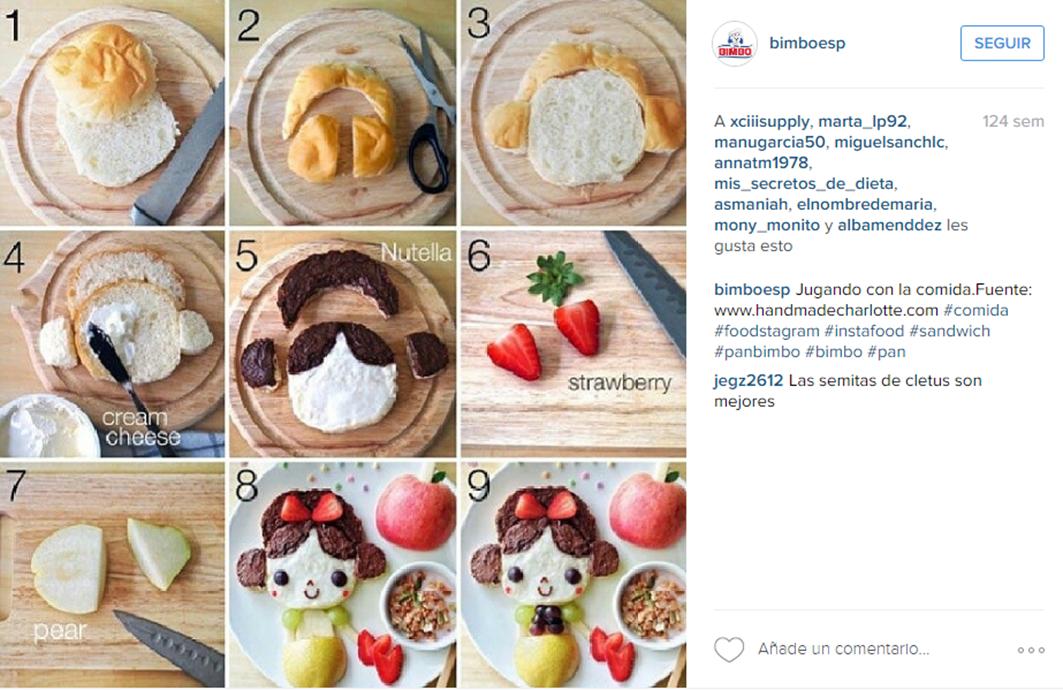Imagen útil Instagram Bimbo