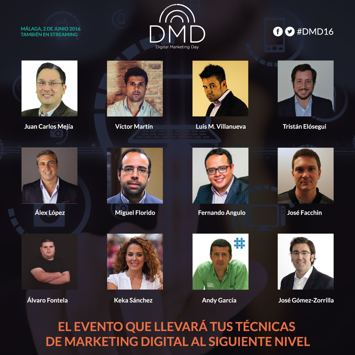 Digital Marketing Day 2016 Málaga
