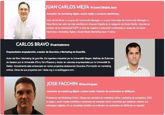 Promoción evento Alicante