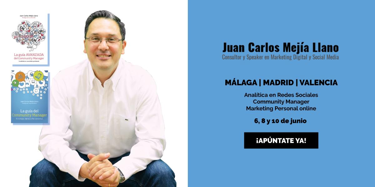 Juan Carlos Mejía - Talleres en España