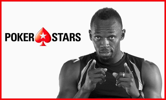 PokerStars y Usain Bolt