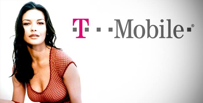 T-Mobile y Catherine Zeta Jones